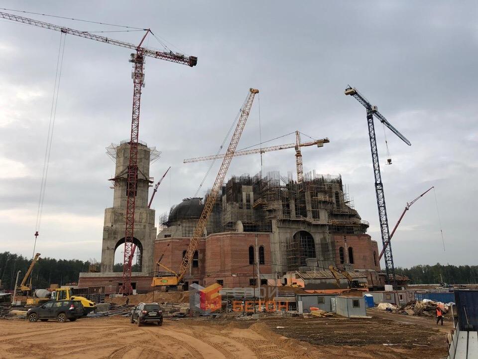 Бетонный завод одинцово свой бетон прочность бетона фундамента